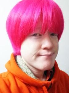 ピンク頭 粕谷幸司