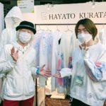 rooms 43 で HAYATO KURATA さんにお会いしてきました