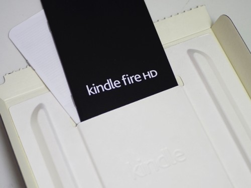 Kindle Fire HD 説明書
