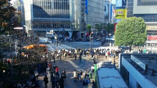 渋谷駅前 ハチ公口