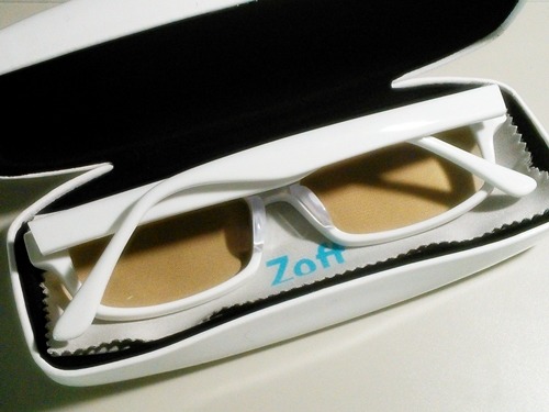 Zoff PC 度つきカラータイプ